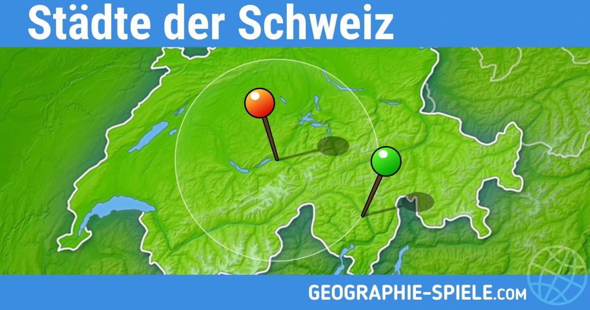 Geografie Spiel